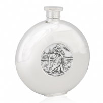 St Christopher Round Flask